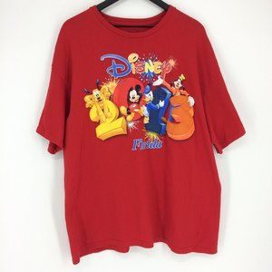 Disney Florida 2013 Puffy Letters Mickey T-Shirt